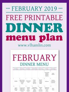 Free Printable Febru