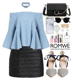 """Romwe"" by oshint ❤ liked on Polyvore featuring J.Crew, Christian Dior, philosophy, Zero Gravity, River Island, Jennifer Meyer Jewelry, awesome, amazing, beautiful and romwe"