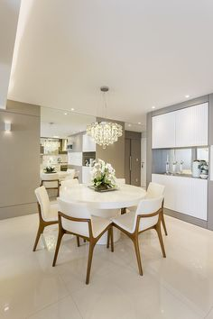 Modern Dining, Dining Room Decor Modern, Dining Room Small, Dining Room Interiors, Home Remodeling, Dining Table, Home Decor, House Interior, Home Interior Design