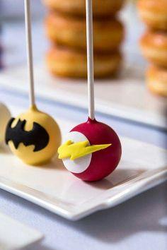 Hero cake pops.
