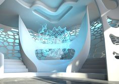 Pharmacy Gate The creative concept is based on the combination of material… Hologram, Holographic, Center Point, Natural Structures, Organic Shapes, Corporate Identity, Alchemy, Pharmacy, Dna