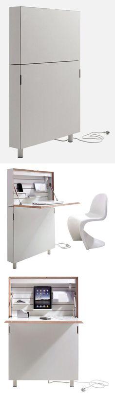 Flatmate – space-saving home office desk.