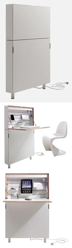 Flatmate – space-saving home office desk.