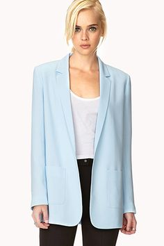 Add To Cart: Your Work Wardrobe Refresh Revealed  #refinery29  http://www.refinery29.com/cheap-work-clothes#slide9  Kind of reminiscent of Working Girl in the best way possible.    From: Top This: 12 Smart & Affordable Blazers
