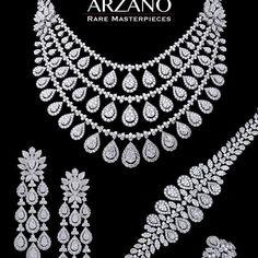 Seiko Women's Diamond Solar Japanese-Quartz Watch with Stainless-Steel Strap, Silver, 8 (Model: – Fine Jewelry & Collectibles Ruby And Diamond Necklace, Diamond Choker, Diamond Pendant Necklace, Indian Wedding Jewelry, Bridal Jewelry, Fancy Jewellery, Diamond Jewellery, Jewelry Design Drawing, Emerald Jewelry