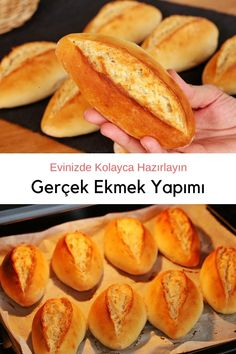 Gozleme, Butter Beans, Lemon Bars, Hot Dog Buns, Hot Dogs, No Cook Meals, Turkish Recipes, How To Make Bread, Cooking Recipes