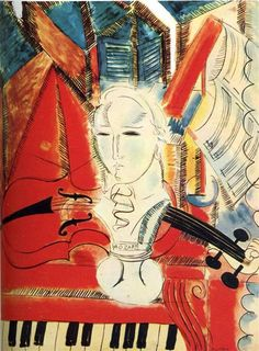 Homage to Mozart, c.1915 - Raoul Dufy - WikiArt.org