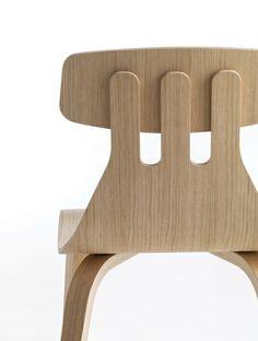 Milla by Sami Kallio Wood Chair Design, Furniture Design, Rebecca Front, Room On The Broom, Nitrile Rubber, Rooms For Rent, Armless Chair, Gardening Gloves, Fine Furniture