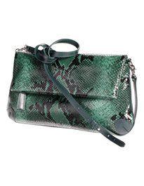 Schmale Handtasche aus echtem Leder in Schlangenoptik. #madeleinefashion Color Type, Trends, Shoulder Bag, Handbags, Shoe Bag, Stuff To Buy, Outfits, Shopping, Accessories