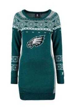 Women's Philadelphia Eagles Majestic Midnight Green Turn on the Lights Full-Zip Hoodie