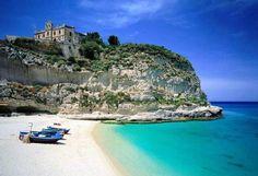 Spiaggia di Tropea, Tropea (Vibo Valentia), Calabria #sea #mare #italy