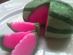 Watermelon Bubble Bath Bar by Crainery on Etsy, $4.00