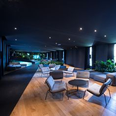 lounge by Point Architects; Architects, Armchair, Conference Room, Lounge, Table, Furniture, Design, Home Decor, Sofa Chair