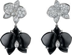 Pendientes Caresse d'Orchidées par Cartier