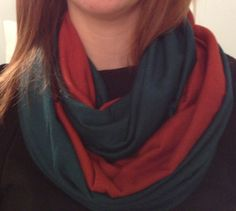 """Handmade infinity scarves made as a fund raiser for school band trip. To purchase, phone/text 780-907-4746, email amg935@mail.usask.ca, or visit """"Comfy Cozy"""" on facebook. Based out of Saskatoon and Edmonton-Canada. made by Amber Grant. Fund Raiser, Fundraising, Shawl, Amber, Infinity, Scarves, Canada, Cozy, Facebook"""