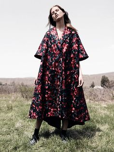 Laura Julie by Daniel Jackson for Vogue China September 2015 - Delpozo