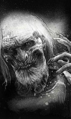 White Walker (by Paul Shipper) #GameOfThrones