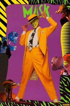 A great movie poster from The Mask! Jim Carrey brings his comedy skills to the Dark Horse Comics character! Published in Fully licensed. Need Poster Mounts. 90s Movies, Funny Movies, Comedy Movies, Great Movies, Film Movie, Movies Showing, Movies And Tv Shows, Jim Carrey Movies, The Mask Costume