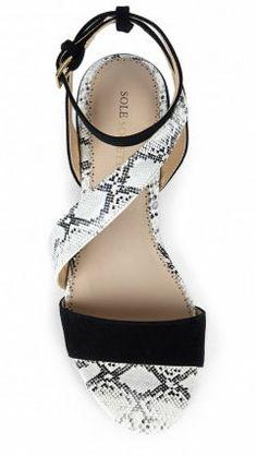 Etta Asymmetrical Sandal