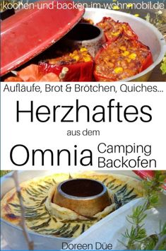 Kochbuch für den Omnia Camping Backofen