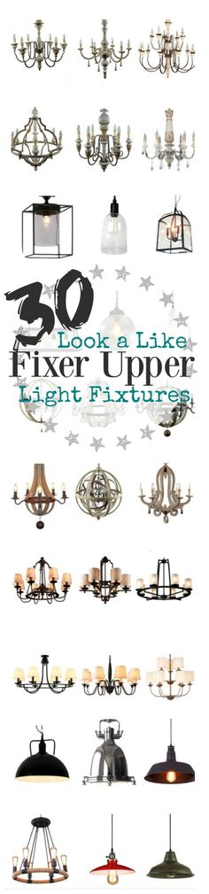 Fixer Upper Lights 30 Light Fixtures Inspired By Joanna Gaines Look A Like