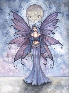 Molly Harrison Fairy Art brought to you by The Fairy Gathering, online art gallery of the world's most talented faery artists.