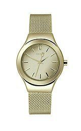 DKNY Greenpoint Champagne Dial Gold-plated Mesh Ladies Watch NY2104 - http://fashion.designerjewelrygalleria.com/watches/dkny-greenpoint-champagne-dial-gold-plated-mesh-ladies-watch-ny2104/