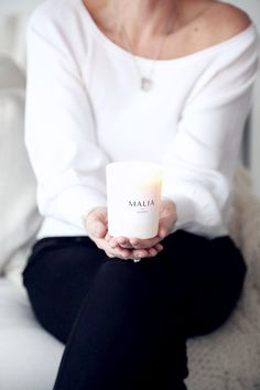MALIA scented candles Light Up The Candle, Scented Candles, Asia, About Me Blog, Autumn, Black, Fall Season, Black People, Fall