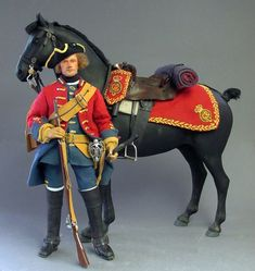 1/6th scale British Dragoon 1743