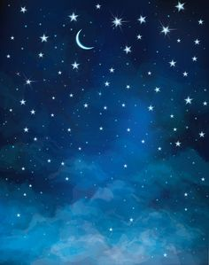 Night Starry Sky Moon and Stars Photography Backdrops Astronomy Blue Photo Backgrounds for Children Studio Props – Jeremy Schneck - Space Fabric Photography, Star Photography, Background For Photography, Photography Backdrops, Nature Photography, Night Photography, Landscape Photography, Landscape Photos, Night Sky Moon