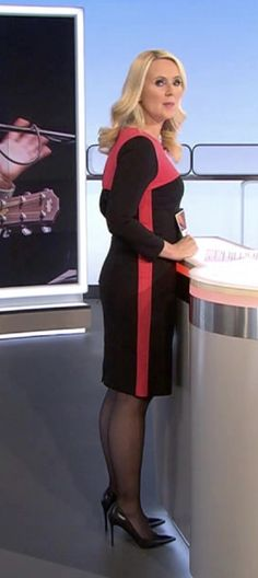 Anja Petzold, High Neck Dress, Dresses With Sleeves, Celebs, Tie, Lady, Long Sleeve, Germany, Google