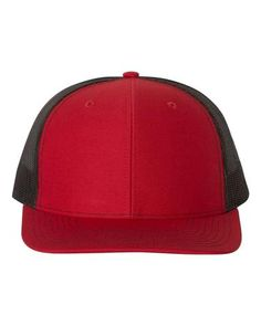 1e50ceb6318 Red Black - Snapback Trucker Hat