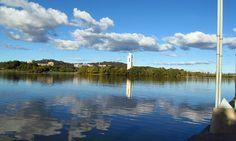 Lake Burley Griffin,Canberra, via Flickr.