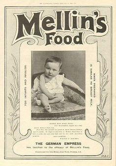 Image detail for -Victorian Advertisement [mellins-food-german-empress-001] : Victorian ...