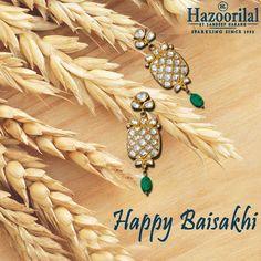 #HazoorilalBySandeepNarang wishes you a harvest of joy and prosperity this season. #HazoorilalCelebrates #Polki #Diamonds #JewelryLover #JewelryAddict #Hazoorilal