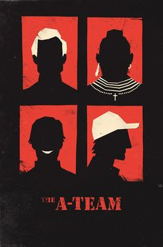 The A-Team by Olly Moss