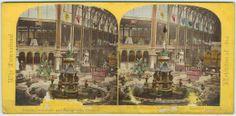 Exposición Internacional de Londres de 1862. Par estereoscópico iluminado. Copia a la albúmina. Archivo fotográfico. Colección de postales. http://bvirtual.bibliotecas.csic.es/csic:csicalepharc000088131