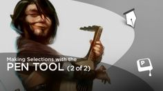 Photoshop Painting - Pen Tool Selection Pt. 2 on Vimeo