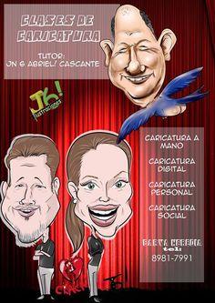 Clases de caricatura Tutor: Jn 6 abriel! caricatura a mano caricatura digital caricatura personal y caricatura social Lugar: Estudio J6ilustraciones! en Barva de Heredia Inscripciones: 8981-7991