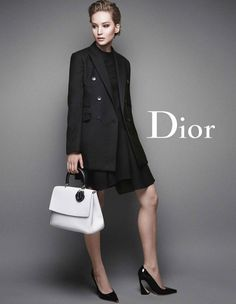 jennifer lawrence miss dior fall 2014 More Photos of Jennifer Lawrences New Miss Dior Ads Revealed Miss Dior, Jennifer Lawrence Legs, Jenifer Lawrence, Dior Handbags, Fashion Handbags, Fashion Advertising, Hollywood Celebrities, Business Women, Christian Dior