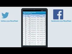 Premium Financial Calc #Android #HD  bearpixel.com