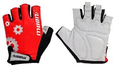 HYXU S166 Men's Women's Mountain Bike Sportswear Bike Bicycle Cycling Riding Half Finger Gloves * Want to know more, click on the image.