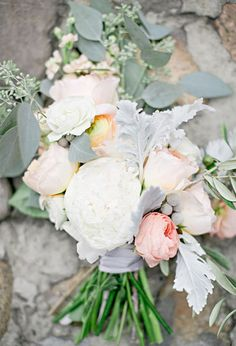 Pale pink, yellow, and white bouquet | Photo by Jeremy Harwell