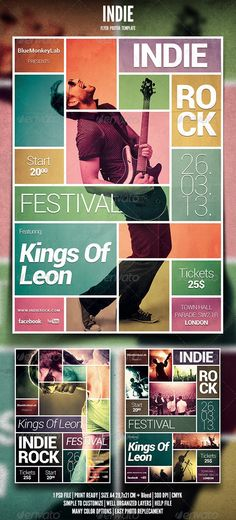 Indie Rock Kings Of Leon Magazine