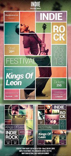Indie Rock Kings Of Leon Magazine