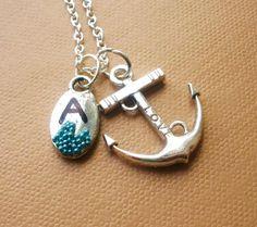 Tibetan anchor pendant
