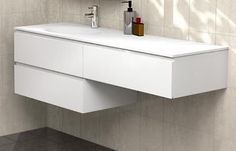 Timberline 900mm Pure Bliss Wall Hung Vanity