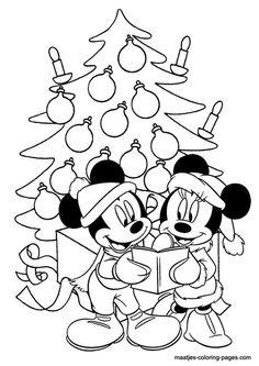 Mickey Disney Kleurplaten Kerst.13 Beste Afbeeldingen Van Raamtekening Kleurplaten