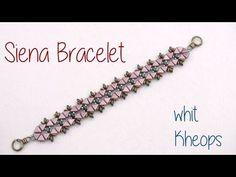 Beading Ideas - Siena Bracelet with Kheops - YouTube
