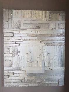 "Biollay Vanina ""Sans nom""  81 x 100 cm Acrylique , modeling past"